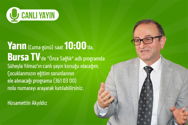 Hüsamettin Akyıldız Bursa TV'de