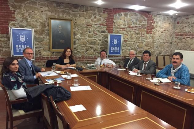 Bursa Engelliler Federasyonu Sağlık Komisyonu Toplantısı